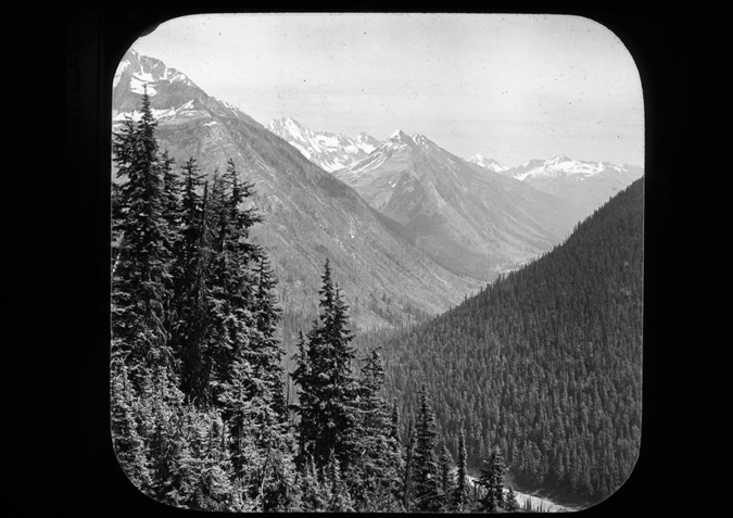 'Canada British Columbia Allecellewash Valley (sic) from Cascade Summit, copyright Kingston Museum and Heritage Service, 2010'