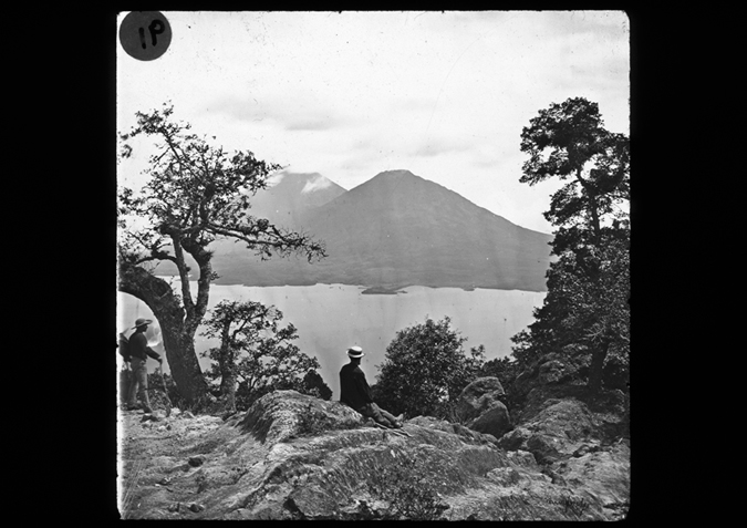 'Lake Atlitlan, Guatemala, copyright Kingston Museum and Heritage Service, 2010'