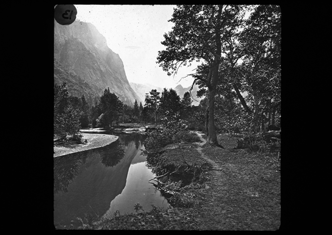 'Valley of the Yosemite, copyright Kingston Museum and Heritage Service, 2010'